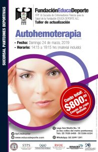 TALLER Autohemoterapia @ Panteones Deportivas