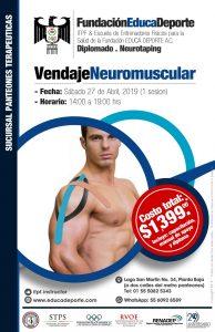DIPLOMADO Vendaje Neuromuscular (1 sesión) @ Panteones Terapéuticas