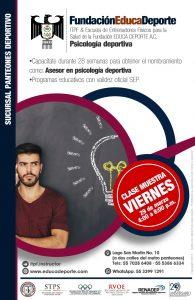 CLASE MUESTRA Psicología Deportiva @ Panteones Deportivas